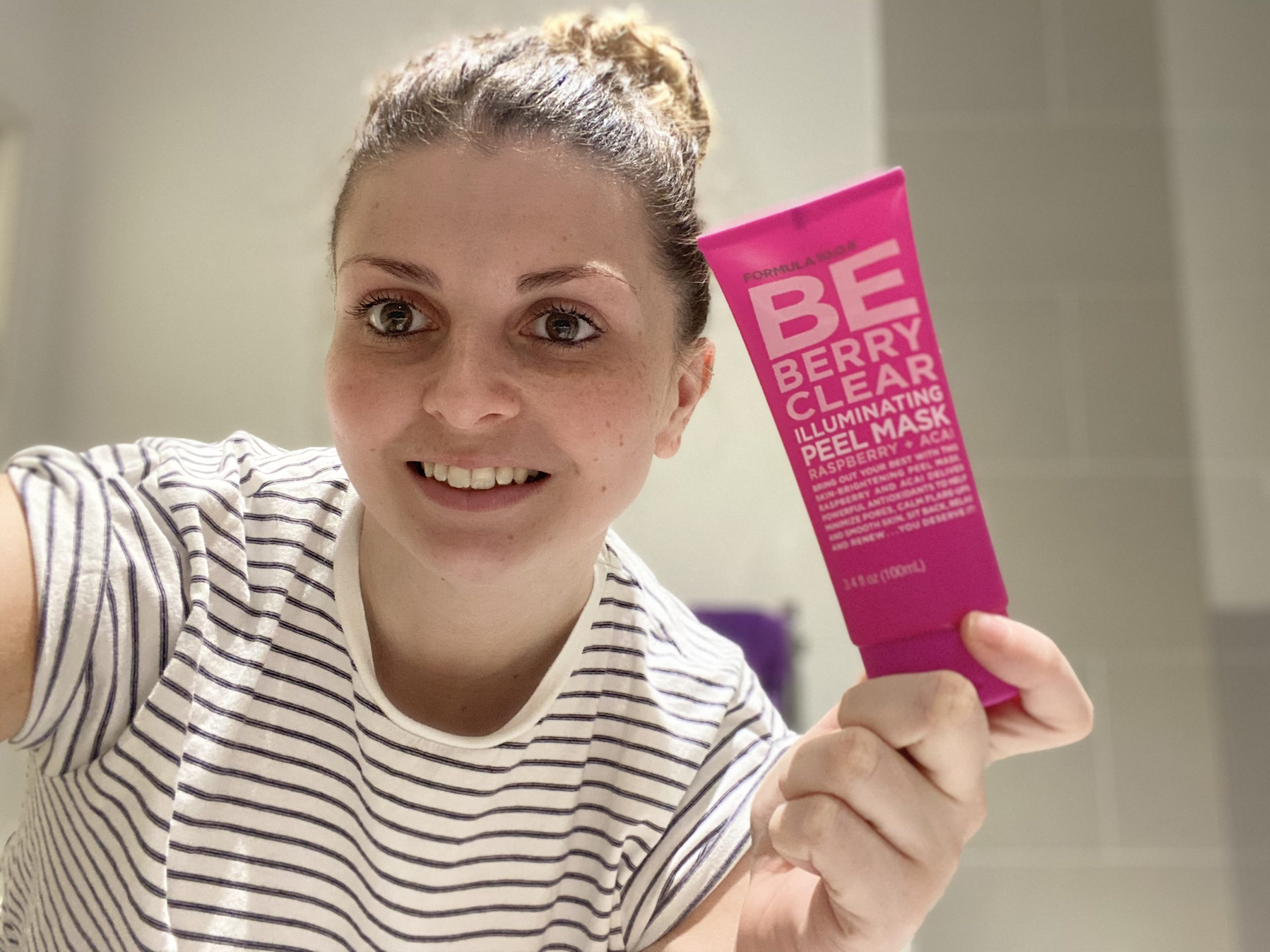 Formula 10.0.6 Be Berry Clear Illuminating Peel Mask Review graphic