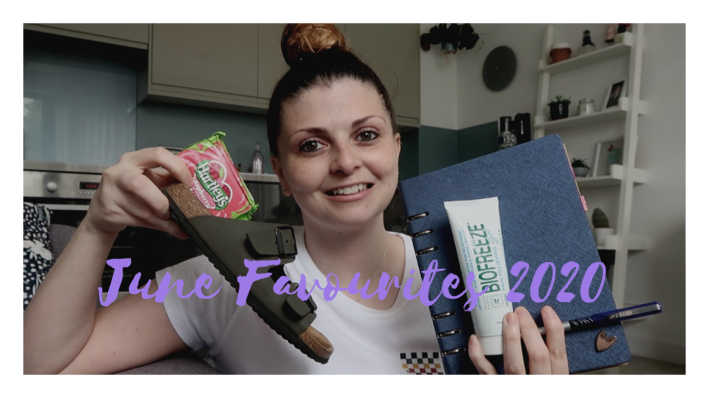 June Favourites 2020 graphic