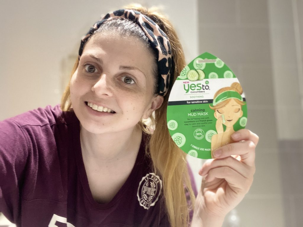 Yes To Cucumbers Calming Mud Mask Review graphic