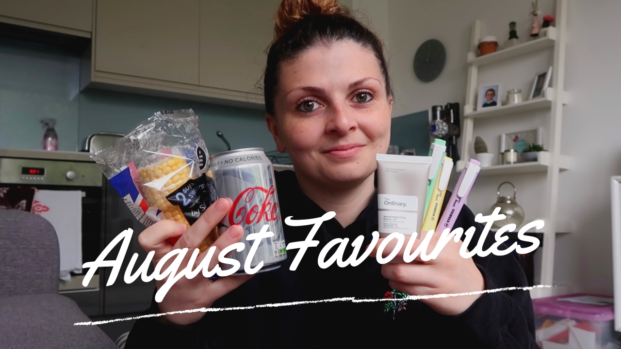 August Favourites 2020 graphic