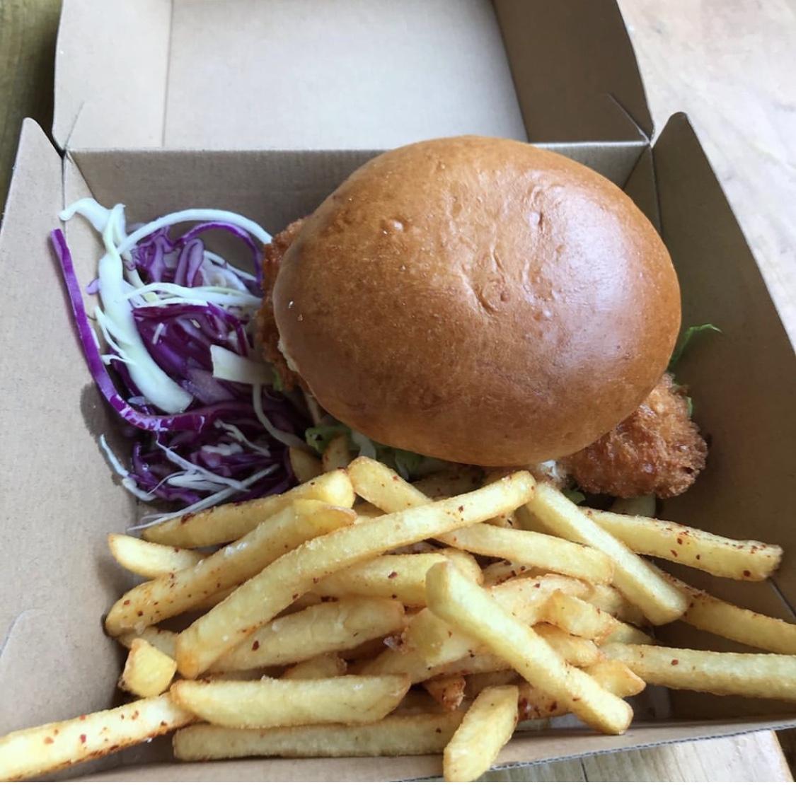 Katsu Chicken burger