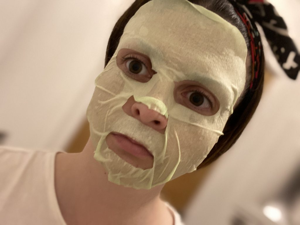 Tonymoly Vital Vita 12 Calming Mask Review