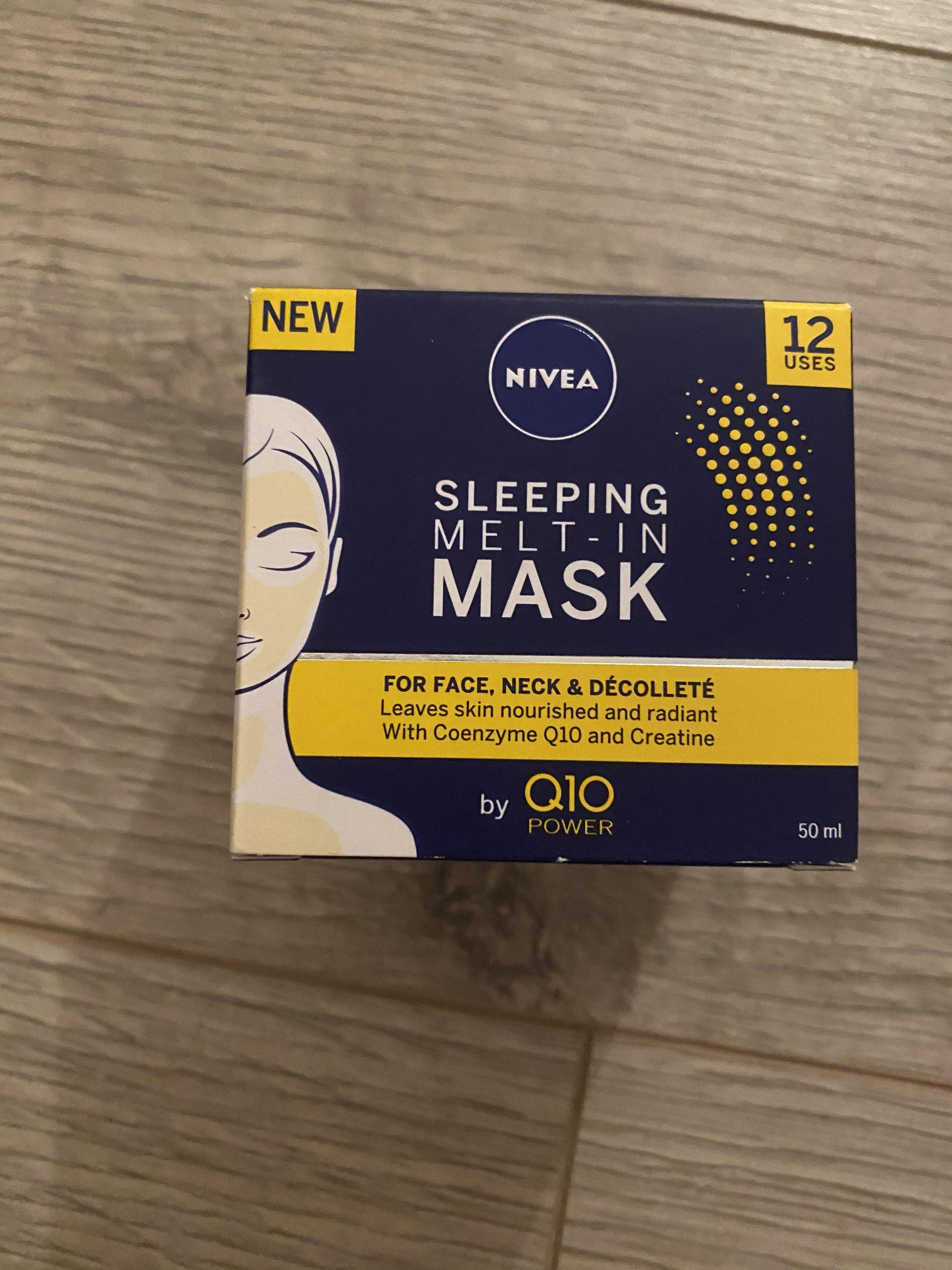 Nivea face mask