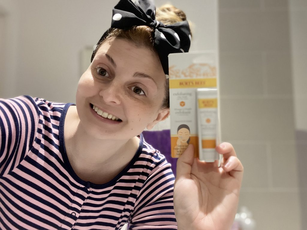 Burt's Bees Exfoliating Clay Mask Review graphic