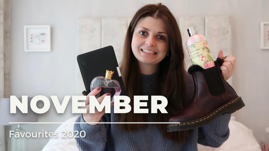 November Favourites 2020 graphic