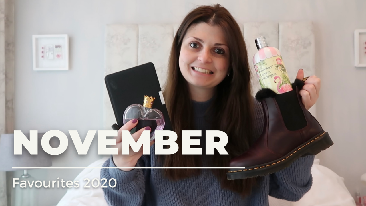 November Favourites 2020 graphic