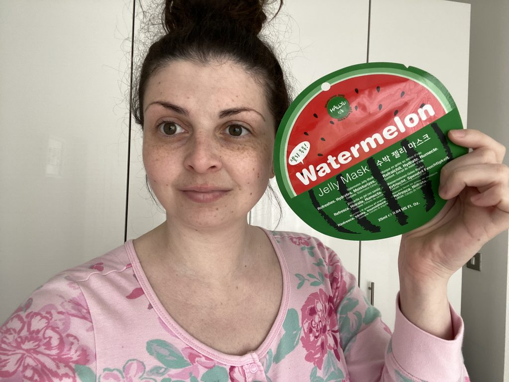 MasqueBAR Hallyu Watermelon Refreshing & Hydrating Jelly Mask Review graphic
